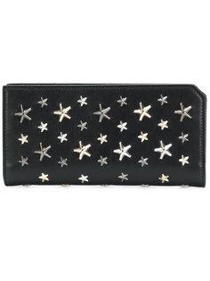 кошелек с заклепками-звездами Jimmy Choo