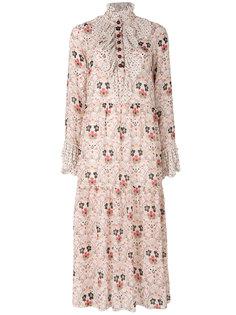 платье с вставкой-жабо See By Chloé