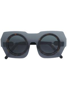 contrast frame sunglasses Kuboraum
