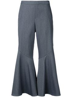 укороченные расклешенные брюки Muveil