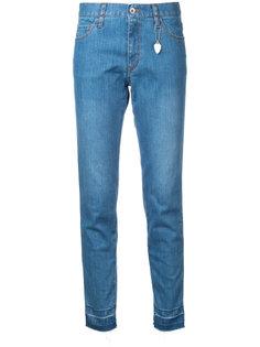 укороченные джинсы с необработанными краями Muveil
