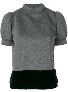 блузка с объемными рукавами  Nº21