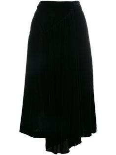 бархатная юбка  Simone Rocha