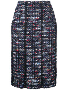 твидовая юбка-карандаш COOHEM