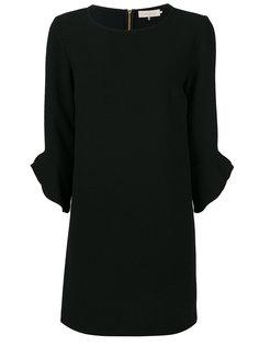 платье с оборками на рукавах  LAutre Chose