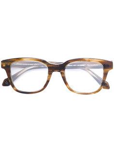 очки с квадратной оправой Brioni