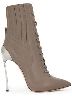 Techno Blade lace-up ankle boots Casadei