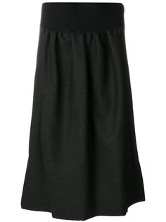юбка с поясом  Jil Sander