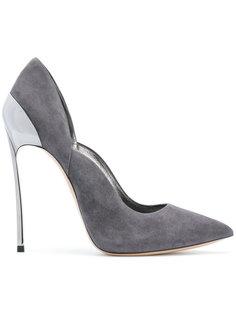 туфли с заостренным носком на шпильках Casadei