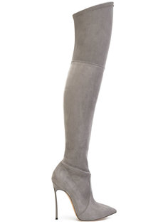 over-the-knee Blade boots Casadei