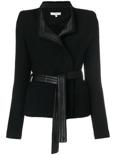 leather trim blazer Iro