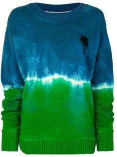 свитер с изображением пальм The Elder Statesman