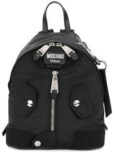 маленький рюкзак с молнией спереди Moschino