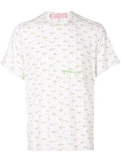 футболка с цветочным принтом Eckhaus Latta