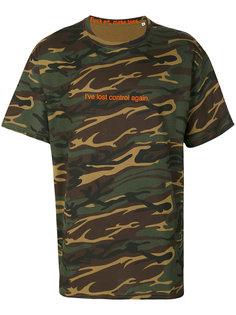 футболка с камуфляжным рисунком F.A.M.T.