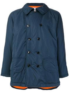 пальто с металлическим отблеском Comme Des Garçons Shirt