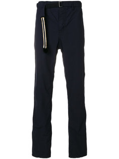 брюки с поясом Sacai