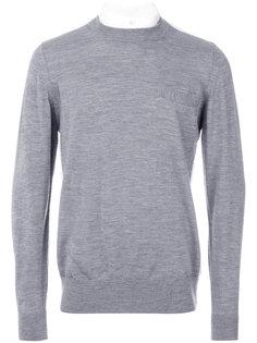 трикотажный свитер Sacai