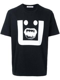 футболка с принтом лица Undercover