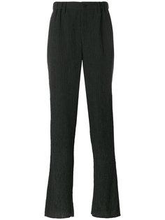 брюки в тонкую полоску  Issey Miyake Men