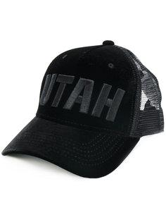 бейсболка с вышивкой Utah  Dsquared2