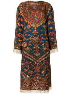платье миди с бахромой Maurizio Pecoraro