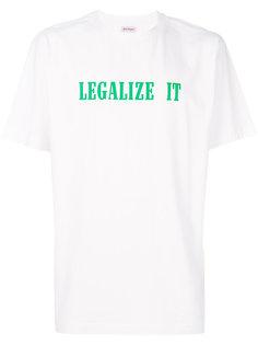 Legalize It T-shirt Palm Angels