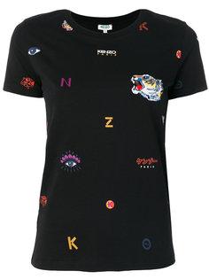 футболка с вышивкой Kenzo
