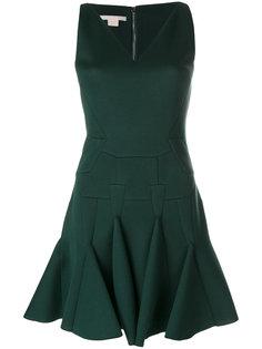 платье мини с оборкой  Antonio Berardi