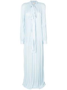 плиссированное платье  Antonio Berardi