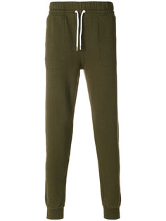 спортивные брюки на шнурке Maison Kitsuné