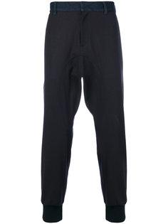 брюки с заниженной проймой Neil Barrett
