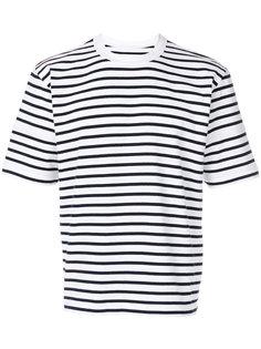 полосатая футболка с короткими рукавами Sacai