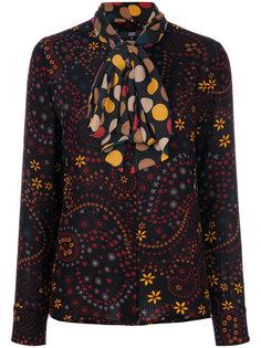 блузка с контрастным бантом  Steffen Schraut