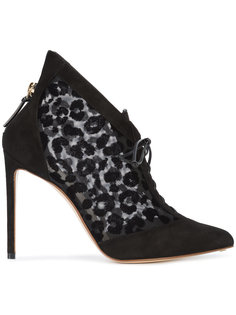 leopard print boots  Francesco Russo