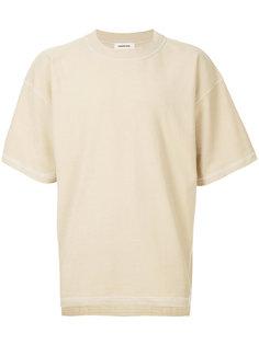 футболка с простроченной отделкой monkey time
