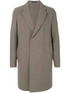 пальто с необработанными краями Emporio Armani