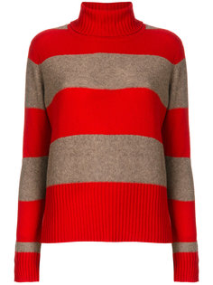 свитер в полоску с отворотом  Sottomettimi