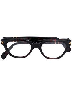 geometric wayfarer glasses Persol Vintage