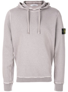 logo patch hoodie Stone Island