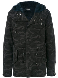 camouflage coat Yves Salomon Homme