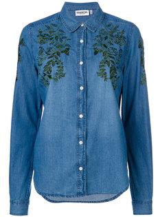 джинсовая рубашка с вышивкой  Essentiel Antwerp