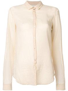 полупрозрачная рубашка  Forte Forte