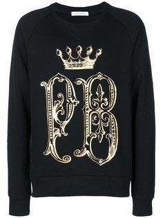 свитер с логотипом Pierre Balmain