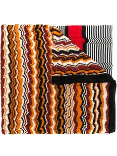 шарф с волнистым узором Missoni