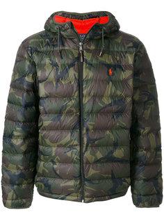 камуфляжная куртка-пуховик Polo Ralph Lauren