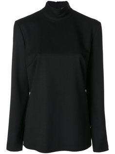блузка с молнией на спине Sara Battaglia