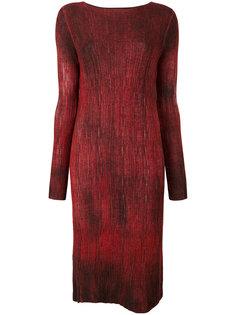 платье с вырезом-лодочка Avant Toi