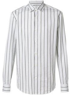 классическая рубашка в полоску Salvatore Ferragamo