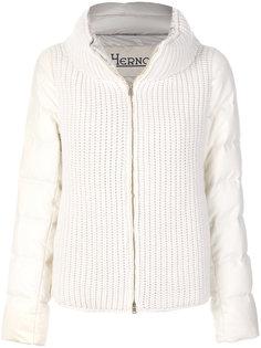 стеганая куртка в рубчик Herno